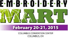 Embroidery Mart 2015 Columbus logo
