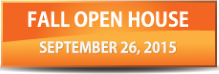Fall 2015 open house graphic