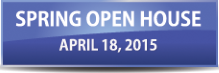 Spring 2015 open house graphic
